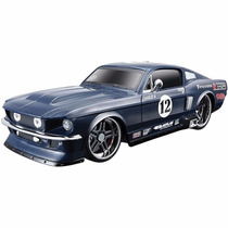 Carro Controle Remoto Mustang Gt 1967 - Maisto