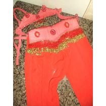 Roupa Infantil Rosa - Dança Do Ventre