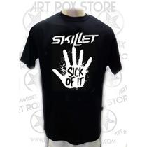Camiseta Skillet - Sick Of It