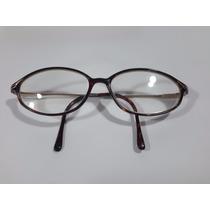 Armação De Oculos Antigo Acetato E Metal