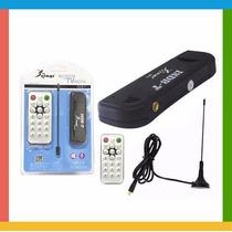Receptor De Tv Digital Usb Pc / Notebook +controle+antena