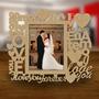 Porta Retrato Mdf 15x20 Mod: Love