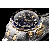 Lindo M20222 Relógio Invicta Pro Diver 0077 Prata Dourado