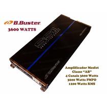 Módulo B.buster Ss1 Bb3600 Gl 3600w 4 Canais 1200 Wrms