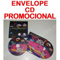 100 Envelope Promocional + Cd Personalizado ( Ideal Músicos