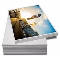 Papel Fotográfico - Brilhante - Tamanho: A4 - 10 Fls - 135g