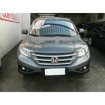 Honda Crv Lx 2012 Completa Mais Couro