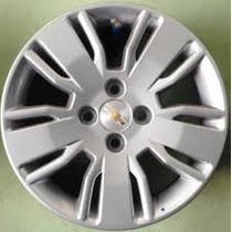 Promoçao Roda Gm Cobalt/ Spin / Ltz Aro 15 Prata/ Grafite