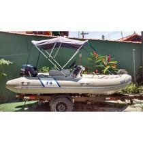 Bote Inflavel Zefir 4,10 M F - 404 Small Boat - Novo