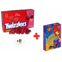 Combo Jelly Belly Bean Boozled + Twizzlers Cherry Bites