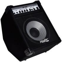 Amplificador Cubo Master Contrabaixo Bx100 100w Fte Aluminio