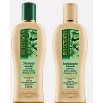 Kit Shampoo +condicionador Antiqueda Jaborandi Bio Extratus