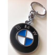 Chaveiro Bmw Metal Cromo 35mm Giratorio 320i 325i 540i 740i