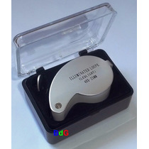 Conta-fios - Mini Lupa 40x 25mm C/ Led + Caixa Protetora