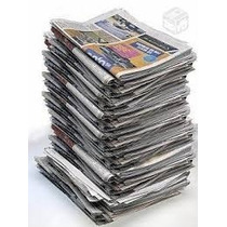 Jornal Velho Limpo Fardo De 5 Kilos.