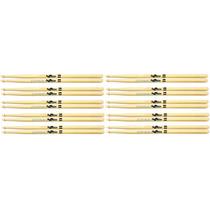Baqueta Spanking 5a Madeira Para Bateria Kit Com 10 Pares
