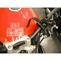 Trava Capacete Moto Sem Chave Cbr R1 Gsx Cb500 Xt Bandit