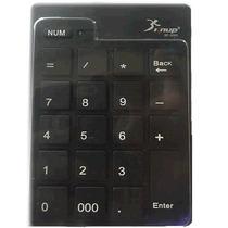 Teclado Numérico Preto Retrátil Usb Notebook Kp-2003 Knup