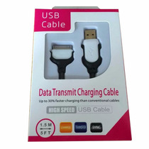 Cabo Usb Ultra Resistente - Iphone 4, Iphone 4s, Ipad E Ipod
