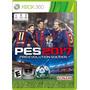Jogo Mídia Física Pt Pro Evolution Soccer Pes 2017 Xbox 360