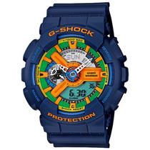 Relógio Casio Masculino G-shock Ga-110fc-2adr Azul