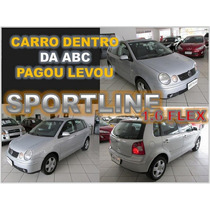 Polo Hath Sportline 1.6 Flex Ano 2006 Financiamento Facil
