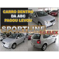 Polo Hath Sportline 1.6 Flex Ano 2006 Financiamento Facil