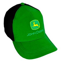 Boné John Deere Verde Com Preto