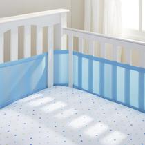 Tela Respiravel Azul Protetor Grade Berco Breathablebaby