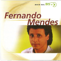 Cd Duplo Fernando Mendes - Bis - Novo***