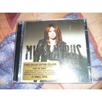 Miley Cyrus Can´t Be Tamed Deluxe Cd/dvd Uk Pronta Entrega