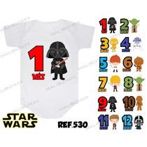 Body Star Wars Lego Mesversario Kit Com 12 Personalize Nome