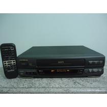 Video Cassete Gradiente 7 Cabeças, Com Controle E Cabo Rca