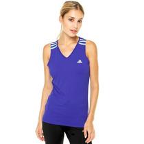 Camisa Regata Adidas ® 3s Poliamida Feminina - Aa5914 Novo