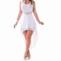 Compre 1 Ganhe Outro Vestido Renda Para Noite Festa Casament