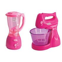 Kit Mini Chef Barbie Liquidificador E Batedeira - Líder