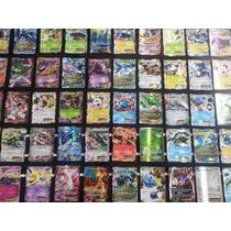 Mega Lote Pokémon - 100 Cartas, Com Ex Garantida ! Português