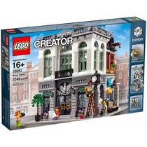 Lego Creator 10251 Brick Bank, Novo, Pronta Entrega!
