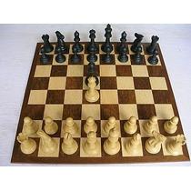 Jogo De Xadrez Conjunto Modelo Staunton Dama Extra