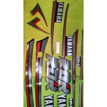 Adesivo Rd 350 R 91 Preta Completo Quali