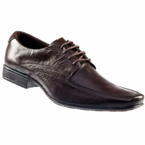 Sapato Social Masculino Em Couro Legítimo 8790 Frete Grátis