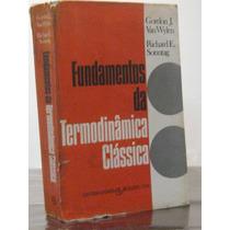 Fundamentos Termodinâmica Clássica Gordon Van Wylen
