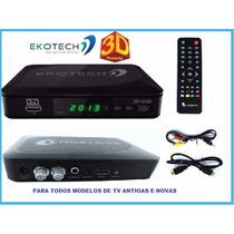 Conversor Tv Digital Tv Tubo E Novas Lcd Plasma 670-n