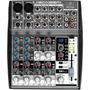 Mesa De Som Behringer C/ Efeito Xenyx 1002fx Mixer 10 Canais
