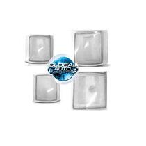 Pisca Silverado Cristal Jogo C/ 4 Peças 1993 94 95 96 97 98