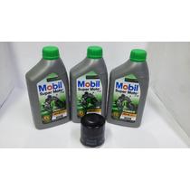 Kit Troca Oleo/filtro Kawasaki Ninja 300 Mobil Mx 10w40