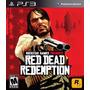 Jogo Red Dead Redemption Ps3 Midia Fisica