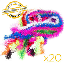 Kit 20 Marabu Plumas Casamento Formatura Aniversario Festa