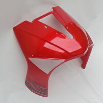 Carenagem Dianteira Vermelha Traxx Sky 125 2010 A 2013
