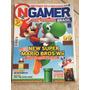 Revista Nintendo Gamer Super Mario Bros Wii Zelda Com Pôster